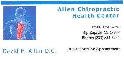 Allen Chiropractic Health Center